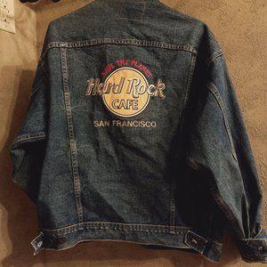 90s Vintage Hard Rock Cafe Jean Jacket